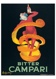 Leonetto Cappiello- Bitter Campari Prints by Leonetto Cappiello