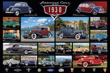 American Classic Cars Of The 30s Prints