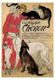 Theophile Steinlen- Clinique Cheron Print by Theophile Steinlen