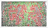 Untitled, 1981 Framed Giclee Print by Keith Haring