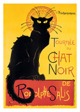 Theophile Steinlen- Chat Noir Posters by Theophile Steinlen