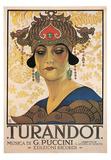 Puccini- Vintage Turandot Prints by Giacomo Puccini