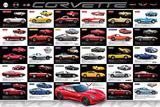Chevrolet: Corvette- Evolution Specs - Afiş