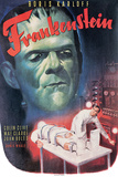 Frankenstein- Boris Karloff, Colin Clive, 1931 Kunstdrucke