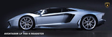 Lamborghini Aventador LP700-4 Roadster Poster