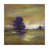 Purple Tree Poster by Sheila Finch