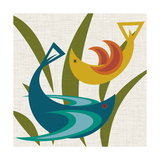 Avian Abstraction I Prints by Sharon Chandler