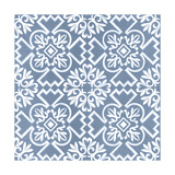 Chambray Tile III Poster by  Vision Studio