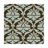 Spa and Sepia Tile III Print by  Vision Studio
