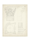 Greek and Roman Architecture I Print by Thomas Kelly