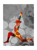 Yoga Pose IV Poster by Sisa Jasper