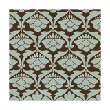 Spa and Sepia Tile IV Print by  Vision Studio
