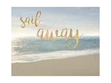 Beach Sail Away Print by James McLoughlin