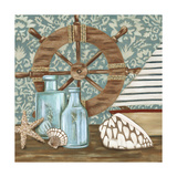 Nautical Collection I Posters by Chariklia Zarris