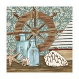 Nautical Collection I Premium Giclee Print by Chariklia Zarris