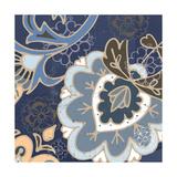 Paisley Blossom Blue II Poster par Leslie Mark
