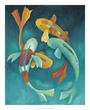 Ornamental Koi II Prints by Chariklia Zarris