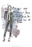 Fashion Quotes III Prints by Naomi McCavitt