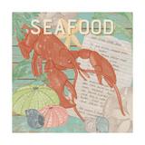 Fresh Seafood II Prints by Leslie Mark