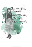 Fashion Quotes I Prints by Naomi McCavitt