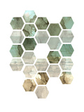 Hexocollage II Poster by Pam Ilosky