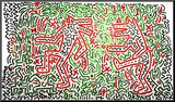 Untitled, 1981 Mounted Print by Keith Haring