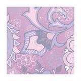 Paisley Blossom Pink III Affiches par Leslie Mark