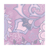 Paisley Blossom Pink III Prints by Leslie Mark