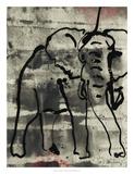 Abstract Elephant I Giclee Print by Joyce Combs