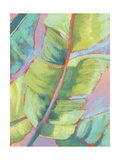 Vibrant Palm Leaves II Poster by Jennifer Goldberger