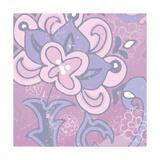 Paisley Blossom Pink I Prints by Leslie Mark