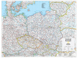 2014 Central Europe - National Geographic Atlas of the World, 10th Edition Posters by  National Geographic Maps