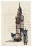 Letters from Big Ben Prints by Melissa Wang