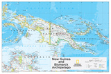 2014 New Guinea - National Geographic Atlas of the World, 10th Edition Posters by  National Geographic Maps