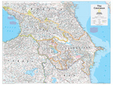 2014 The Caucasus - National Geographic Atlas of the World, 10th Edition Prints by  National Geographic Maps