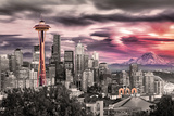 Seattle- Towering Space Needle Prints