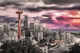 Seattle- Towering Space Needle Prints