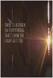 Crack in The Light Kunstdruck