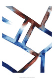 Blue & Red Chutes I Kunstdrucke von Grace Popp
