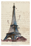 Letters from Eiffel Posters by Melissa Wang