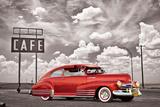 Chevrolet- Classic 1948 RedFleetline Posters