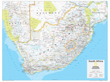 2014 South Africa - National Geographic Atlas of the World, 10th Edition Plakater af  National Geographic Maps