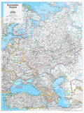 2014 European Russia - National Geographic Atlas of the World, 10th Edition Prints by  National Geographic Maps