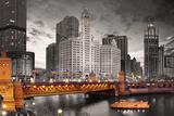 Chicago- Du Sable Bridge Prints