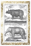 Gilded Safari I Print by Denis Diderot