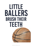 Little Ballers I Poster by  Studio W