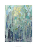 Stained Glass Forest II Limited Edition by Grace Popp