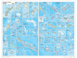 2014 Islands of the Pacific - National Geographic Atlas of the World, 10th Edition Posters by  National Geographic Maps
