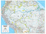 2014 Amazon Region - National Geographic Atlas of the World, 10th Edition Prints by  National Geographic Maps
