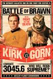 Star Trek- Kirk vs Gorn Stardate 3045.6 Plakat
